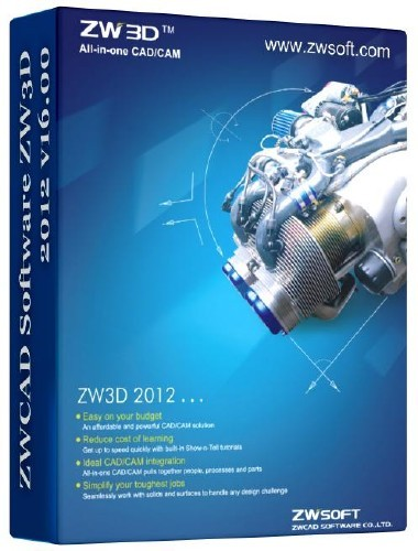 ZWCAD Software ZW3D 2012 16.10 SP1-REMEDY