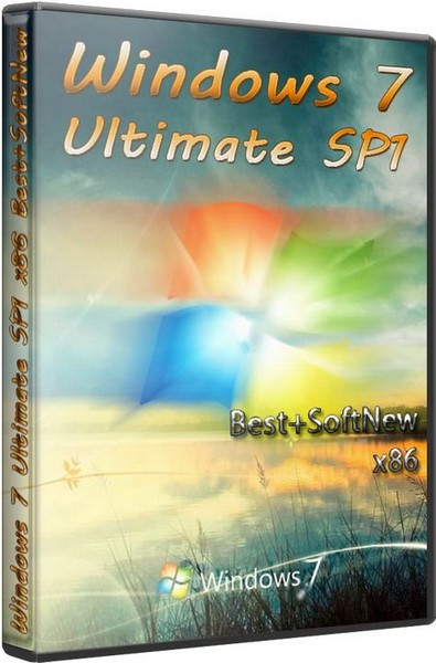 Windows 7 Ultimate SP1 x86 Best+SoftNew (2011/RUS)
