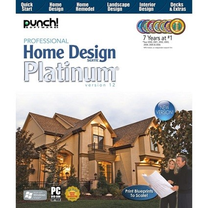 Punch Professional Home Design Suite Platinum 12.0.2