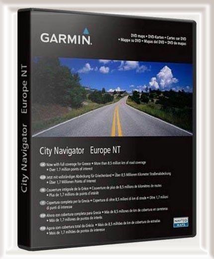 City Navigator Europe NTU 2012.10 Unicode MapSourse+IMG Многоязычная версия