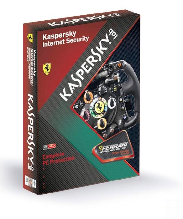Kaspersky Internet Security Special Ferrari Edition 11.0 Rus