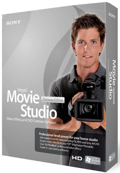 Sony Vegas Movie Studio HD Platinum 11.0 Build 220 Production Suite 2011/ML