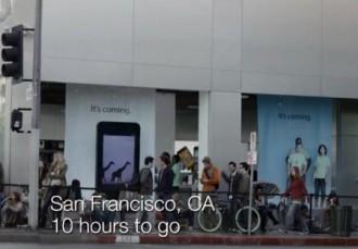 Samsung опять смеётся над фанатами Apple и новым iPhone 5