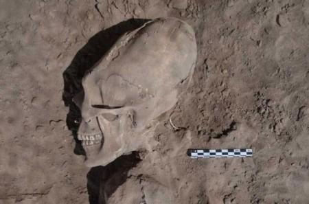 В Мексике нашли черепа «иных» возрастом в тысячу лет