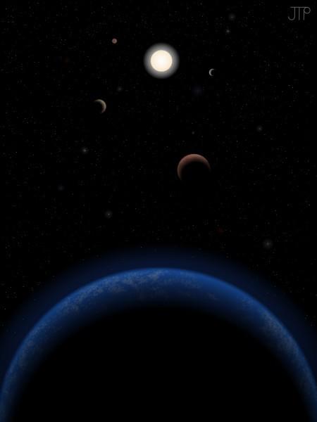 Астрономы нашли еще одну потенциально обитаемую планету