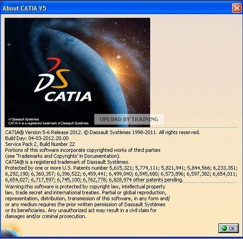 Dss Catia V5-6R2012 SP2 Multilanguage (x86/x64)