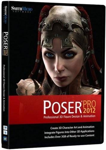 Poser Pro 2012 v.9.0.0.16510 + DVD Content,Sample