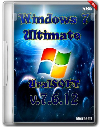 Windows 7 x86 Ultimate UralSOFT Full Lite v.7.6.12