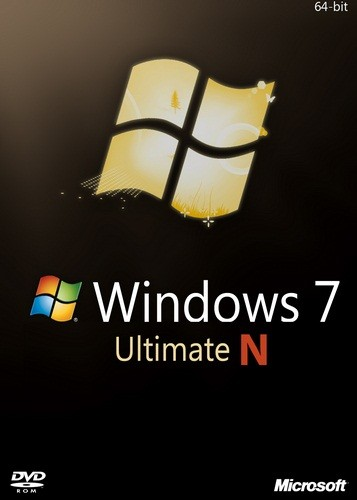 Microsoft Windows 7 Ultimate N SP1 with IE9 (en-US, ru-RU) x64 2012.07 [Английский, русский]