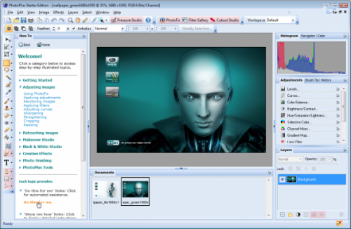 Serif PhotoPlus X5 15.0.1.11 - улучшать фотографии