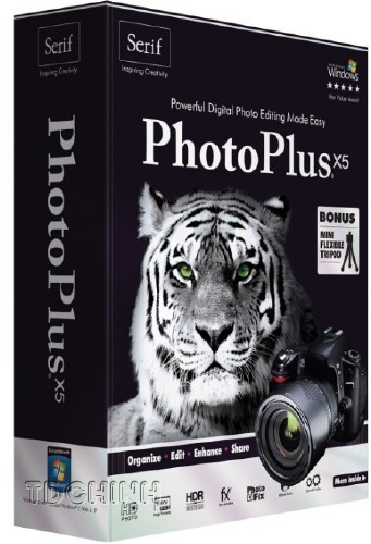 Serif PhotoPlus X5 15.0.100.54 + Rus