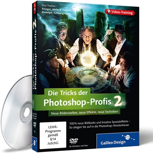 Galileo Design : The Tricks of Photoshop Professionals 2 (Germany)