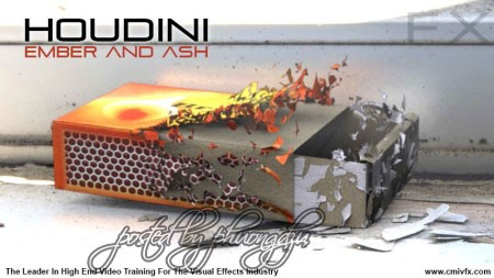 cmiVFX: Houdini Embers And Ash - Reupload