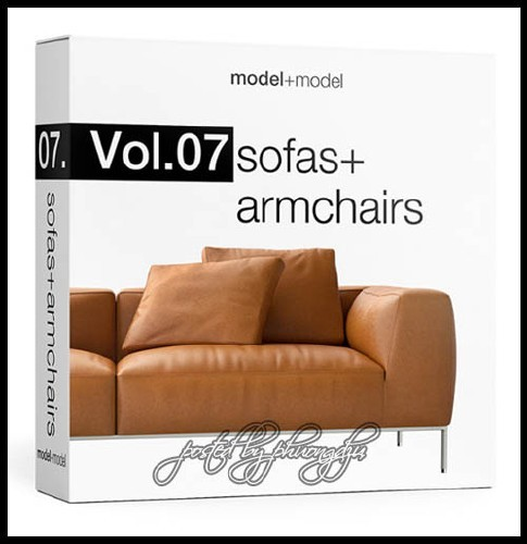 Model Plus Model - Volume 07 Sofas + Armchairs