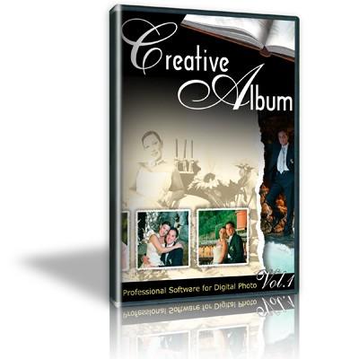 Creative Wedding Album 1 «Свадебный альбом» — PSD Design Templates
