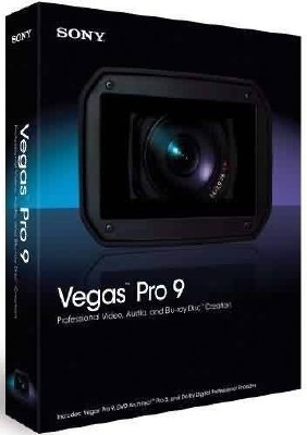 "Sony Vegas PRO 9 (x32/x64, RUS) + Видеокурс ""Sony Vegas 9 для начинающих и ..."