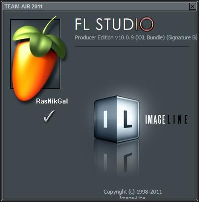FL Studio + ключ и crack 10.0.9 Final Producer Edition - редактор музыки