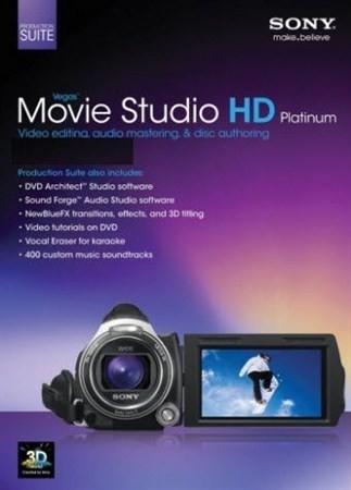 Sony Movie Studio Platinum 12.0 Suite x64
