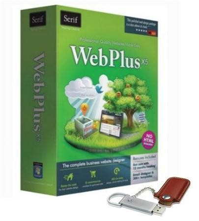 Создай сайт САМ! Serif WebPlus X5 13.0.1.020 (ML/RU) Portable