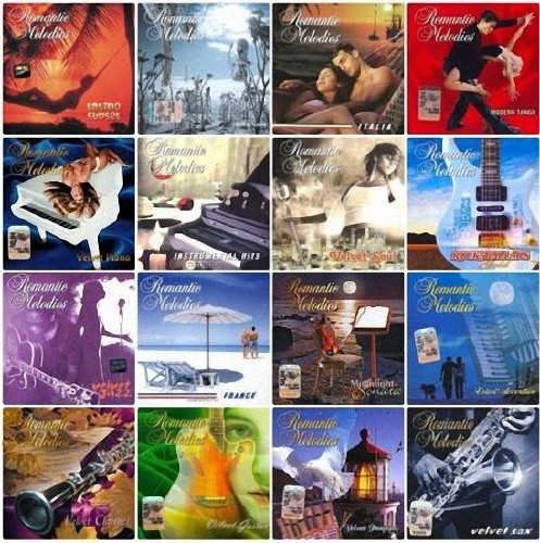 VA - Romantic Melodies - Collection (2004-2008) 16 CD