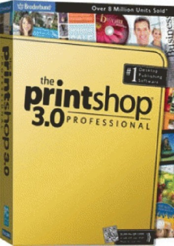 Broderbund The Print Shop 3.0 Pro