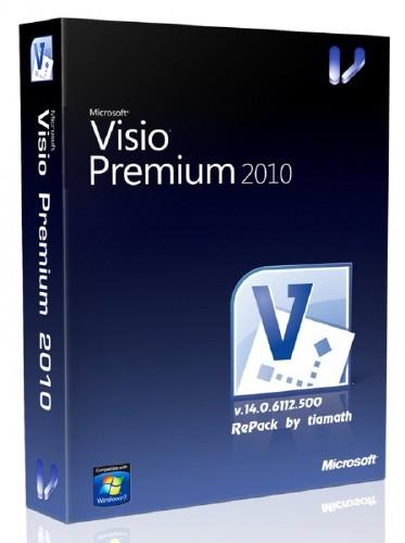 Microsoft Visio 2010 Premium SP1 VL RePack by tiamath v.14.0.6112.5000 (20. ...