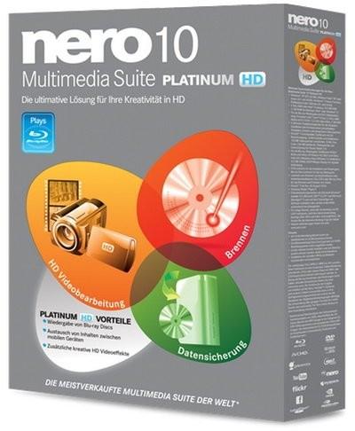 Nero Multimedia Suite Platinum HD 10.6.11800