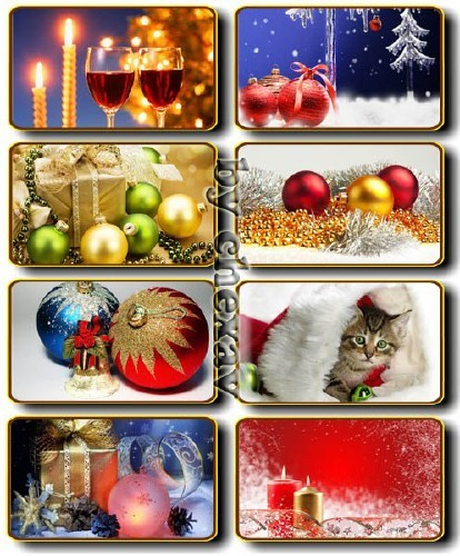 Christmas and New Year. Wallpapers 7