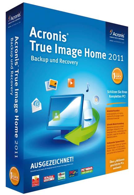Загрузочная флешка с Acronis True Image Home (2011) ENG+RUS