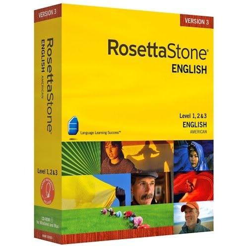 Rosetta Stone - English (American) - Level 1, 2, 3, 4, 5