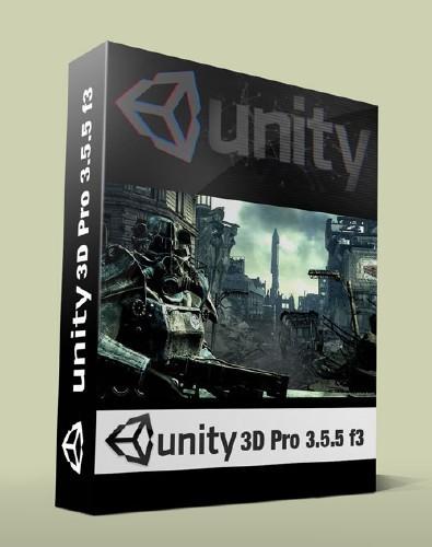 Unity 3D Pro 3.5.5 f3