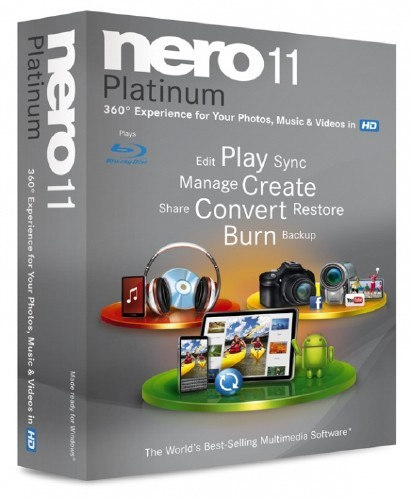 Nero Multimedia Suite Platinum HD 11.2.00700 Final ML/Rus (fixed patch by-iOTA)