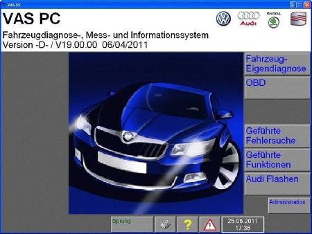 VAS PC [ v.19.00.00, German, 2011 ]