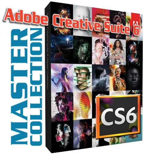 Adobe Creative Suite 6 Master Collection (32 and 64-Bit) for Windows – New  ...