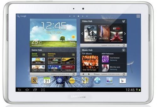 Samsung объявила о начале продаж Galaxy Note 10.1 43