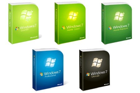 Microsoft Windows 7 [ (10 в 1) x86/x64 (Activated) Ukr, v.7600.16385.090713-1255 ]