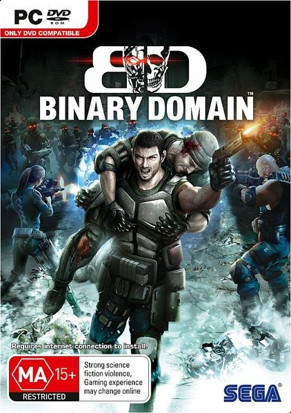 Binary Domain (2012/RUS/ENG/RePack R.G. Repackers)