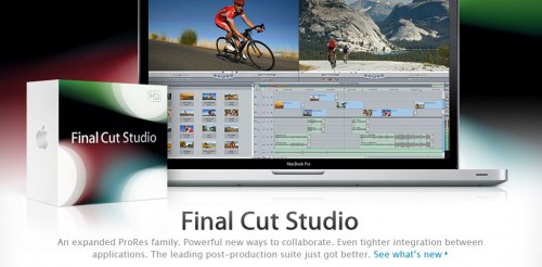Final Cut Studio 3 Complete Suite ALL 7 DISKS