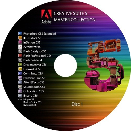 Adobe Creative Suite 5 (CS5) Master Collection