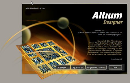 Altium Designer 10 Update 20 build 10.1133.24352