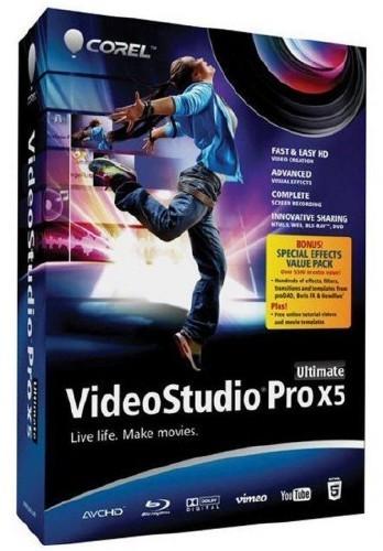Corel VideoStudio Pro X5 Ultimate + SP1 + DVD Menu v15.0.0.2