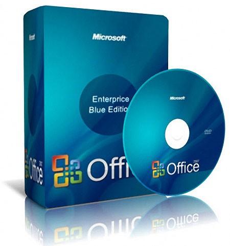 Microsoft Office 2010 версия BLUE
