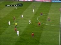 Футбол. ЕВРО-2012. Отборочный период. Группа I. Испания - Чехия (2011) SATRip