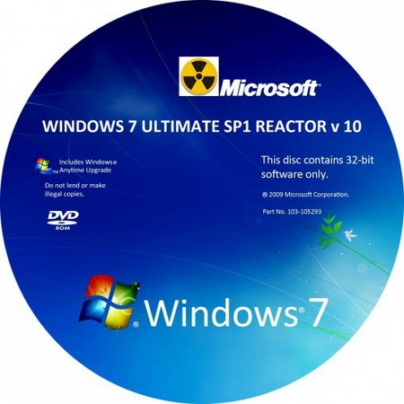 Windows 7 Ultimate SP1 (Reactor/946 Mb)