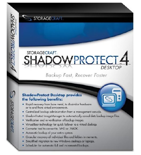 ShadowProtect Desktop Edition v 4.1.5 Build 10129