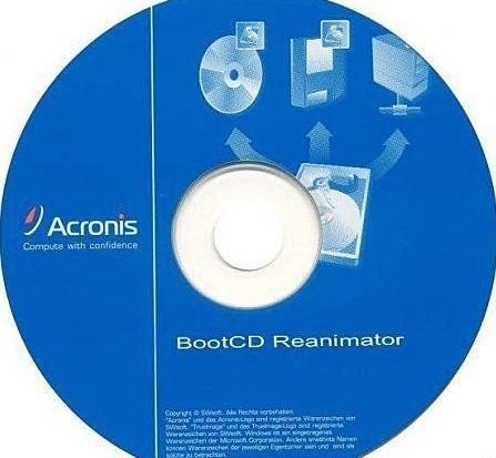 Acronis Boot CD Sergei (Rus/360 Mb)