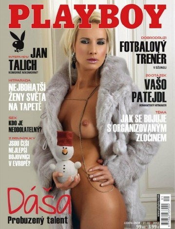 Playboy Czech - January / February 2012