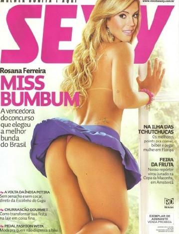 Sexy Brazil - January / 2012(Rosana Ferreira)