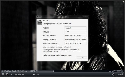 Media Player Classic - BE 1.1.3.0 + Portable