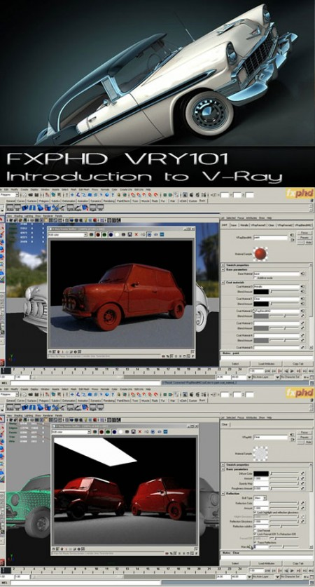 FXPHD VRY101 Introduction to VRay